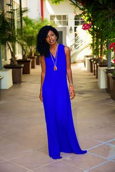 V-Back Maxi Dress - Style Pantry - Your fashion, culture and lifestyle stockist