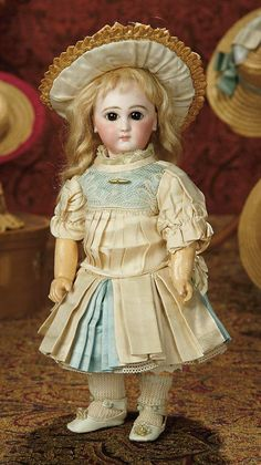 The Memory of All That - Marquis Antique Doll Auction: 189 Petite French Bisque Premiere Bebe by Emile Jumeau