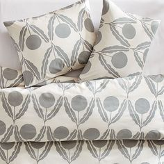 west elm bedding: love this design and color