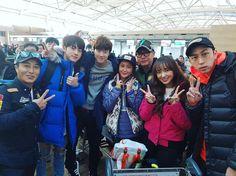 Jin ❤ Seokjin with the members of 'Law of the Jungle' IG Update) Seokjin, Hoseok, Namjoon, Best Song Ever, Best Songs, Qualities In A Man, Law Of The Jungle, Bts Twt, Cheng Xiao