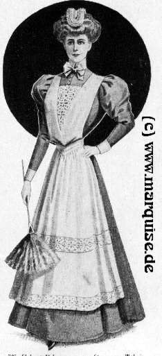 uniform for a maid, 1908