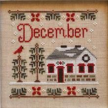 Country Cottage Needleworks December Cottage