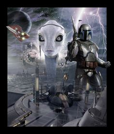 Star Wars - Attack of the Clones Kamino Poster