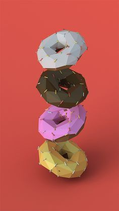CGI / Low Polygon Illustrations by Jeremiah Shaw & Danny Jones   Inspiration Grid   Design Inspiration