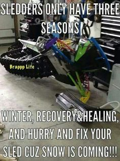 LOVE SNOWMOBILING!