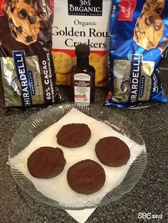 Unbelievable easy to make & taste just like the girls scout cookies.   THIN MINT COOKIES  www.BurnFatFeelGreat.com #sweettreats #sweets #desserts #treat #treats