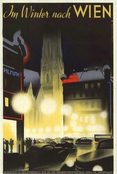Vienna, Come to Vienna in winter, Ad 1937