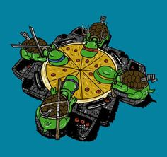 Hungry hungry turtles