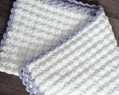 Vintage Chic Free Crochet Baby Blanket Pattern