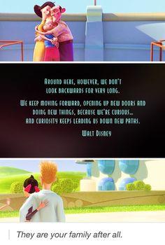 Meet the Robinsons.most underrated Disney movie ever it is the best! Walt Disney, Disney Pixar, Disney Memes, Disney Quotes, Disney And Dreamworks, Disney Animation, Disney Magic, Disney Art, Disney Stuff