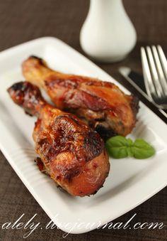Курица в маринаде с бальзамическим уксусом