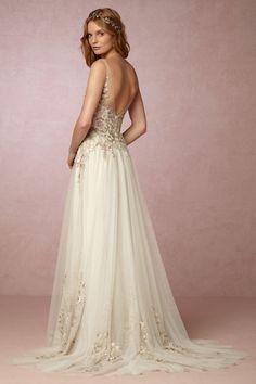 BHLDN Heidi Gown in  Bride Wedding Dresses at BHLDN