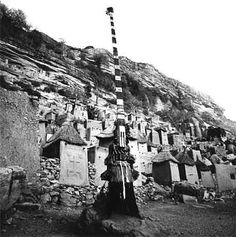the sirige mask of the african dogon tribe showing the squatter man (squatting man) in a long/tall version