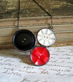 Soldered buttons-gonna try this but make a heart instead