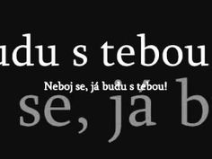 Neboj se, já budu s tebou - YouTube Music Web, Worship Songs, Youtube, Did You Know, Videos, Youtubers, Youtube Movies