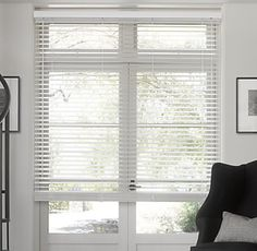"RH Wood Blinds - White 72"" x 72"" US$332"