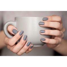 Επιλέξτε #ματ γκρι αποχρώσεις στα νύχια σας! Για ραντεβού ομορφιάς στο σπίτι σας τηλεφωνήστε  215 505 0707 . . . #myhomebeaute #μανικιουρ #σχεδιασμούνύχια #μανικιούρ #γυναικα #γυναικα #ομορφια #ομορφιά #νυχια #νύχια #χειμωνας #χειμώνας #μανικιούρ #γαλλικο #γκρί