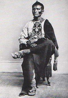 Ka-Ke-Ga-Sha (aka Yellowish-Red Chief, aka Ga-Hi-Ge Zhi, aka Who Keeps A Sacred Pipe, aka Pi-Sing, aka Game) - Kaw – 1867
