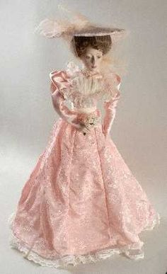 The Franklin Mint Gibson Girl Bridesmaid