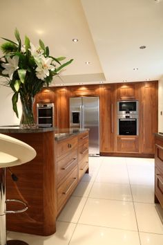 83 best walnut kitchen images walnut kitchen modern kitchens new rh pinterest com