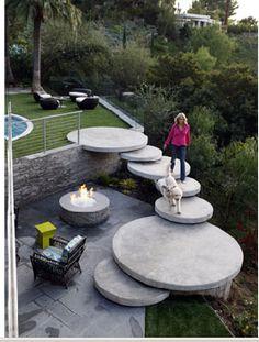 79 Best Concrete Steps Images Garden House Entrance