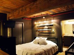 Modern loft master bedroom fun bedroom ideas for couples on budget new home designs design master . Attic Master Bedroom, Small Room Bedroom, Bedroom Loft, Modern Bedroom, Bedroom Decor, Bedroom Rustic, Bedroom Ideas, Bedroom Windows, Bed Room
