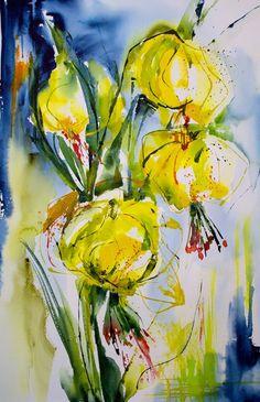 Véronique PIASER MOYEN #watercolor jd