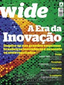 Revista Wide de março/abril fala sobre inovação e sorteio pelas mídias sociais