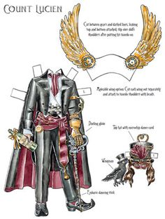 dover publications steampunk paper dolls - Google Search