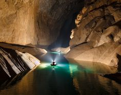 Discover Son Doong Cave - the world's largest natural cave in Phong Nha – Ke Bang National Park, Quang Binh province, Vietnam Places To Travel, Places To Visit, Vietnam Voyage, Road Trip Destinations, Holiday Destinations, Sea World, Nature Pictures, World Heritage Sites, National Geographic