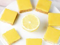 Carrés au citron : Recette de Carrés au citron - Marmiton