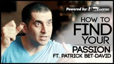 How to FIND YOUR PASSION ft. Patrick Bet-David   Find Your Dream Job   Mayank Bhattacharya   Mayank sits down with Patrick Bet-David. the CEO of PHP Agency Inc. and the host of Valuetainment for an in-depth series on entrepreneurship personal image and business.  This is the first episode of the series. Hope y'all enjoyed it!  Patrick's YouTube channel Valuetainment -   https://www.youtube.com/user/patrickbetdavid Patrick's Website - http://ift.tt/MKFj98  How to FIND YOUR PASSION ft. Patrick…