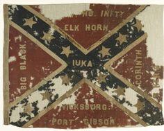 Flag, 2nd & 6th Regiment Infantry Missouri C.S.A. :: Missouri Civil War Battle Flags