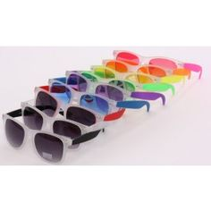 Neon Neon Sunglasses $8.99...check out this website ..amazing stuff at great prices