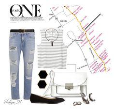 Black & White 3 by shannonholcombe70 on Polyvore featuring polyvore fashion style Monki rag & bone Charlotte Russe Marc by Marc Jacobs Janna Conner Designs