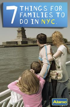 7 Things to Do in New York City with Kids - New York City has a lot to offer families with children. To keep your vacation planning stress free, check out Alamo's travel tips.