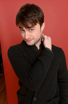 Kill Your Darlings' Daniel Radcliffe posed for a portrait session during the Sundance Film Festival in Park City, Utah, Jan. 18.