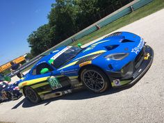 Lone Star Racing N°80 Dodge Viper GT3-R in IMSA WeatherTech Sports Car Championship at Road America Elkhart Lake WI