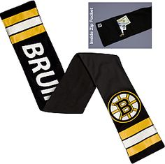 Littlearth Boston Bruins Jersey Scarf - Dick's Sporting Goods