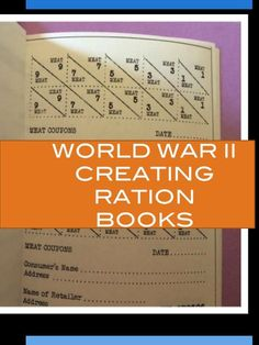 Creating puzzles, ration books, radio plays and more+ informational text in this set of World War II activities about life on the home front
