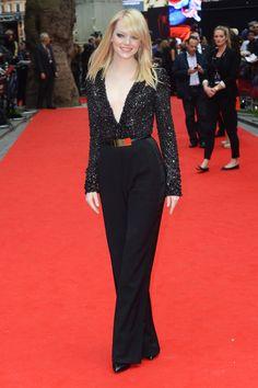 Emma Stone wearing Elie Saab in June 2012