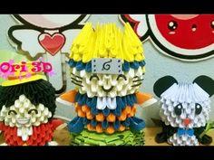 [Tutorial Naruto 3D Origami ] Hướng dẫn xếp Naruto origami 3d - YouTube