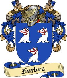 Forbes Family coat of arms