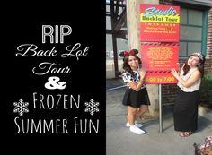 Disney College Program: Saying Goodbye To Back Lot Tour & Frozen Fun