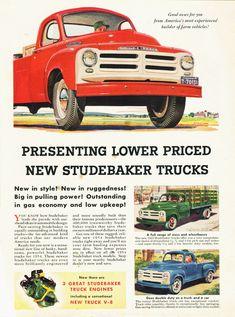 1954 Studebaker Truck Ad