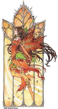 Meredith Dillman. Reminds me of A. Mucha
