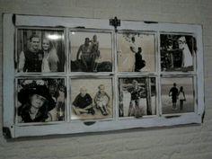 Van oud raam naar fotolijst