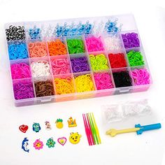 BTGGG 4400 MultiColor Rubber Bands Refills Set Bracelet Making Kits Loom Bands Kit Loom Included for Kids Bracelet Weaving DIY Crafting >>> You can find out more details at the link of the image. (This is an affiliate link) Countdown For Kids, Diy Clothes Hangers, Rainbow Loom Bands, Kids Bracelets, Rubber Bands, Diy Wall Art, Diy For Kids, Easy Crafts, Christmas Crafts
