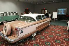 Can you believe that my dad actually bought one of these new in 1957? I begged him to be a '57 BelAir instead.