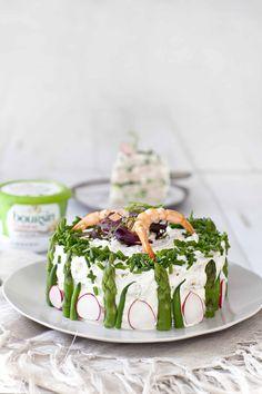 Sandwich cake aux crevettes